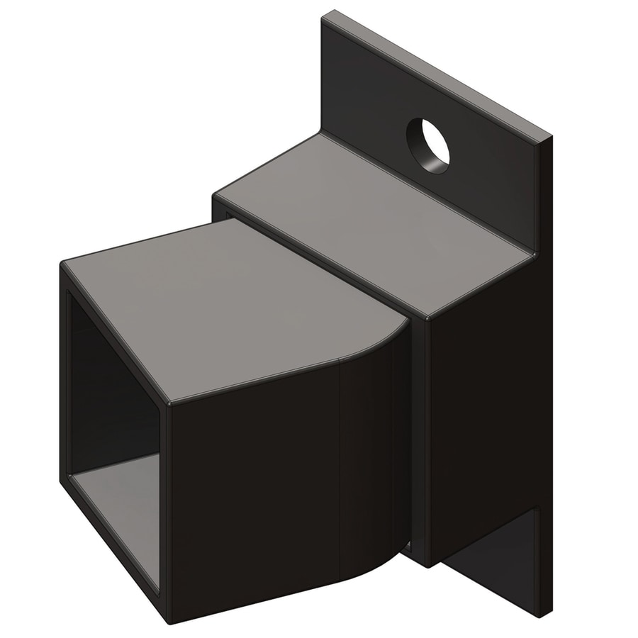 Ironcraft Accessory Black Metal Steel Fence Mounting Bracket