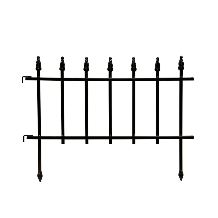 Delightful Display Product Reviews For Empire Black Powder Coated Steel Garden Edging  (Common: 0.03