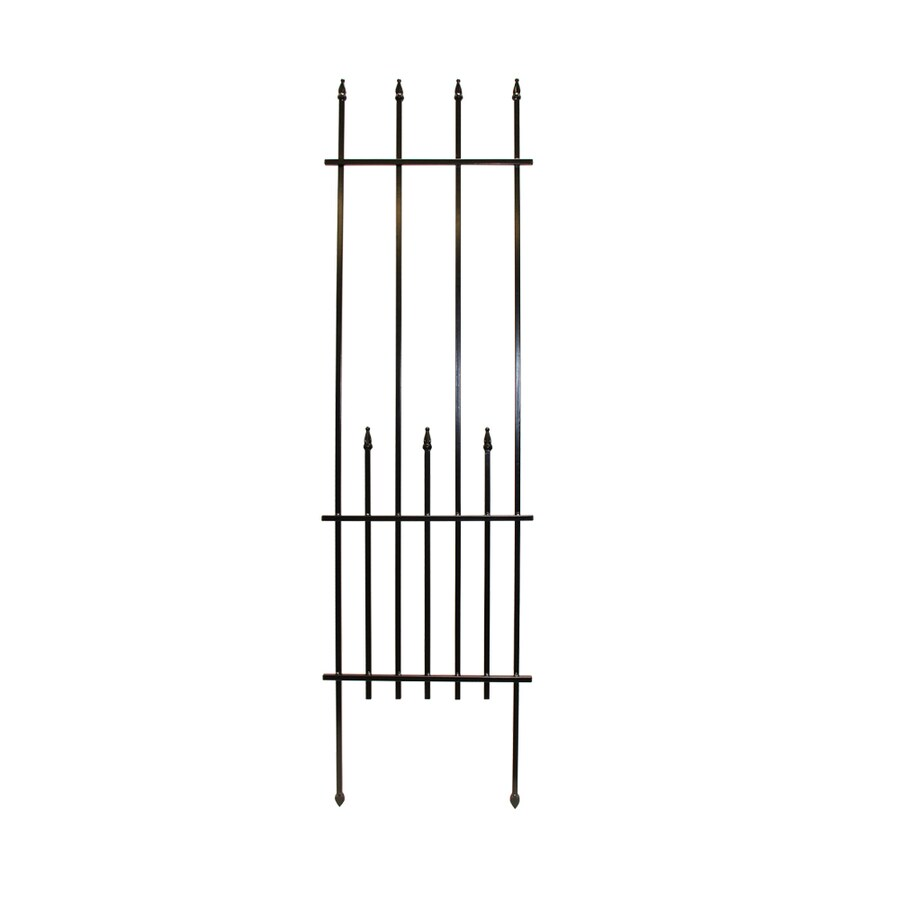 17.1-in W x 64.2-in H Powder-Coated Garden Trellis