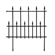 Empire Black Powder Coated Steel Garden Edging (Common: 0.03 In X 24