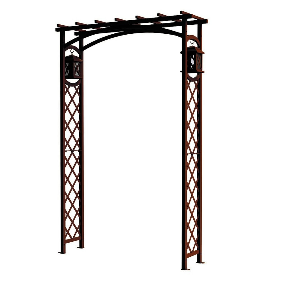 Attractive GARDEN CRAFT 4.33 Ft W X 6.55 Ft H Expresso Garden Arbor
