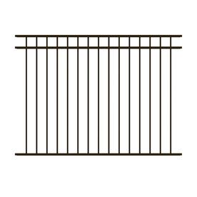 ironcraft common 43 ft x 6 ft actual 43 - Decorative Fence