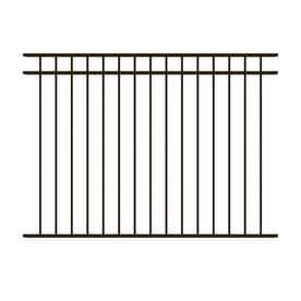 ironcraft common 43 ft x 6 ft actual 43 - Decorative Fence Panels