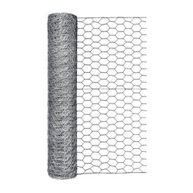 Blue Hawk (Actual: 50-ft x 2-ft) Rolled wire Galvanized Chicken Wire Farm Rolled Poultry Netting