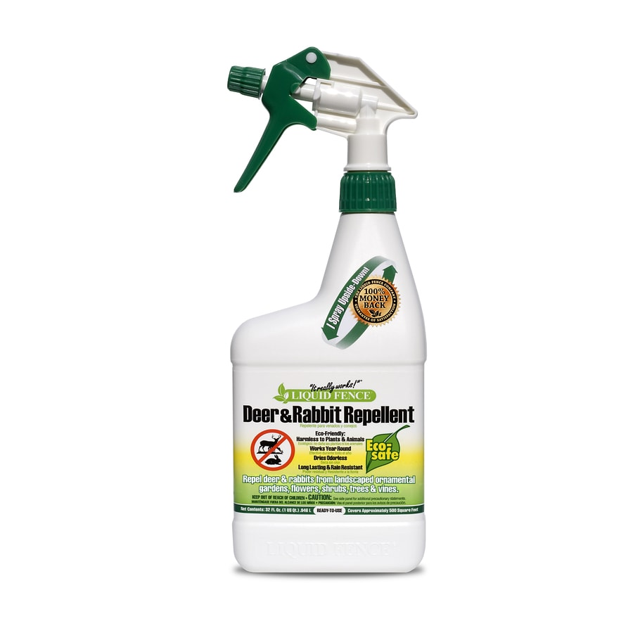 Liquid Fence Deer and Rabbit Animal Repellent