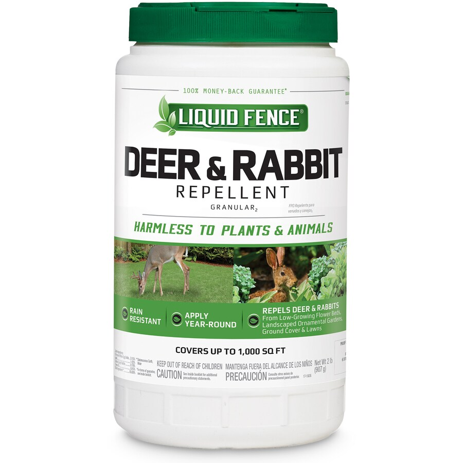 Liquid Fence Deer and Rabbit 2-lb Animal Repellent
