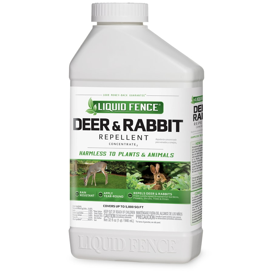 Liquid Fence Deer and Rabbit 32-fl oz Animal Repellent