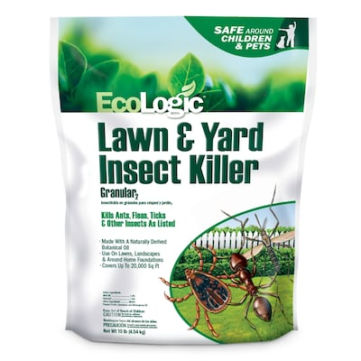 EcoLogic Granular 10-Count 10-lb Lawn Insect Control at