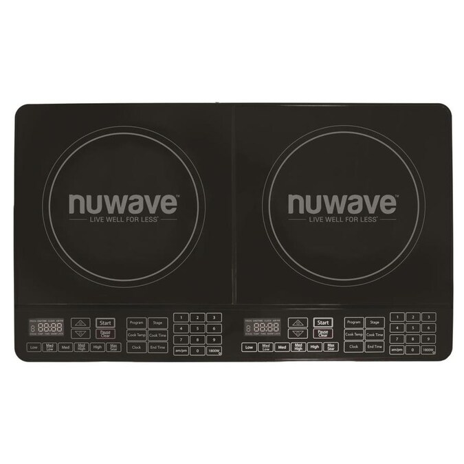 Burners Black Induction Cooktop
