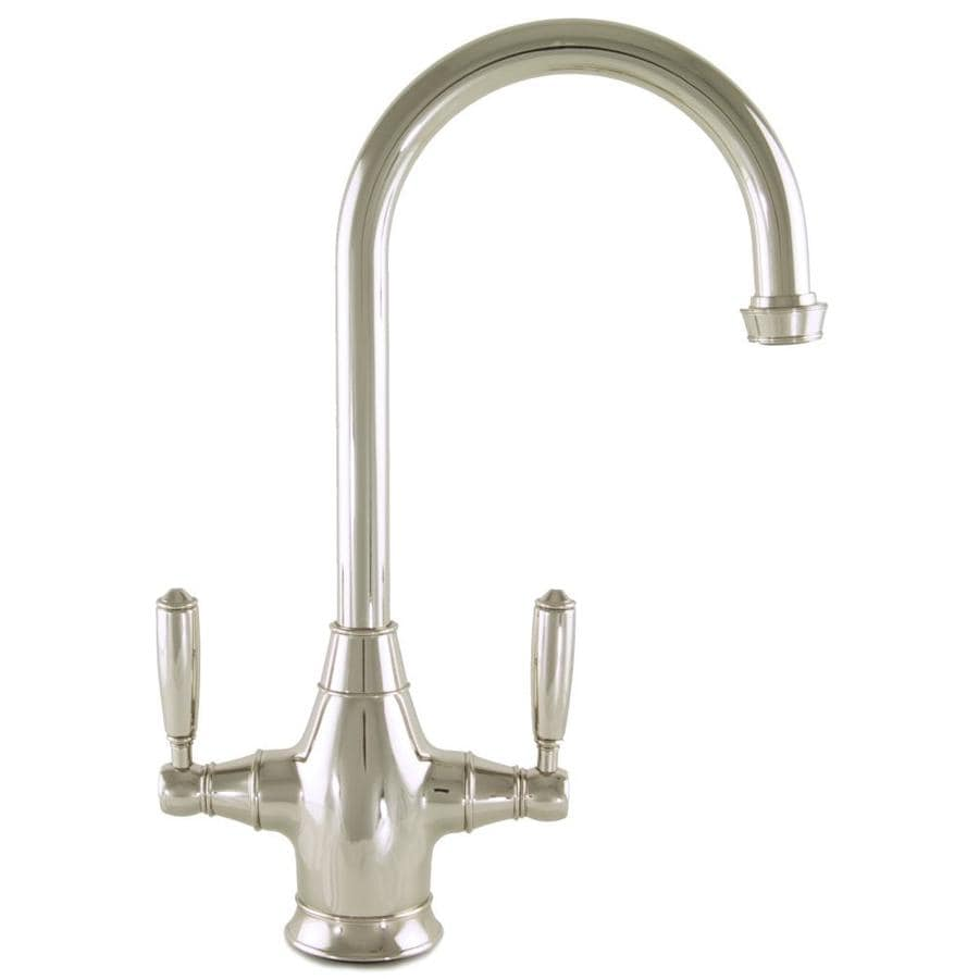 Mico Designs Chester Polished Nickel 2-Handle Bar and Prep Faucet