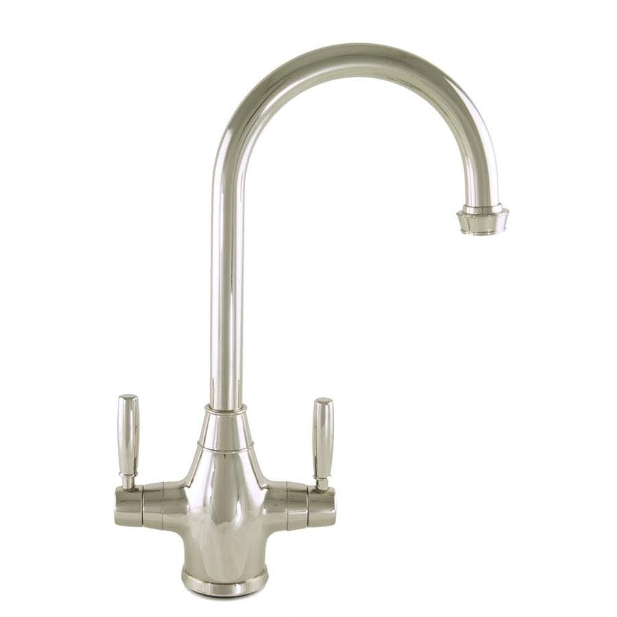 Shop Mico Designs Churchill Polished Nickel 2 Handle Bar And Prep Faucet At