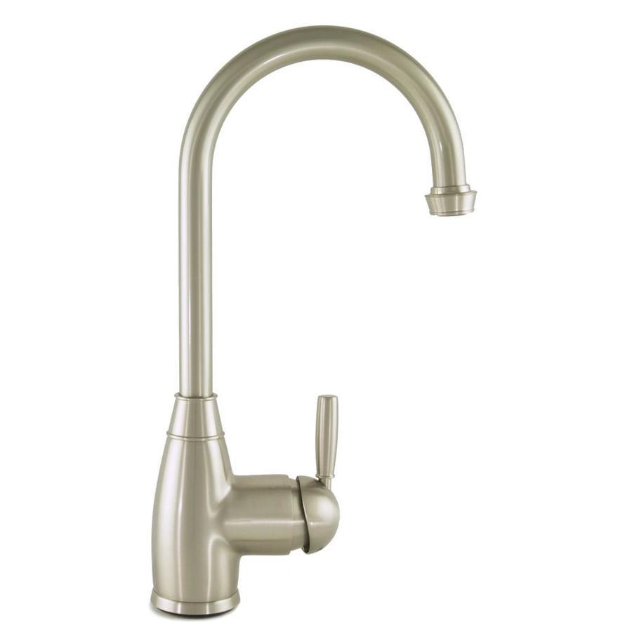 Mico Designs Churchill Satin Nickel 1-Handle Bar and Prep Faucet