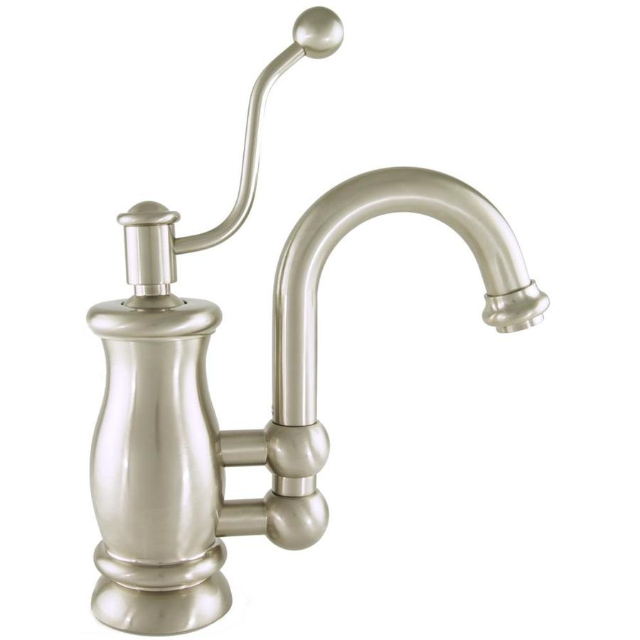 Mico Designs Seashore Satin Nickel 1-Handle Bar and Prep Faucet