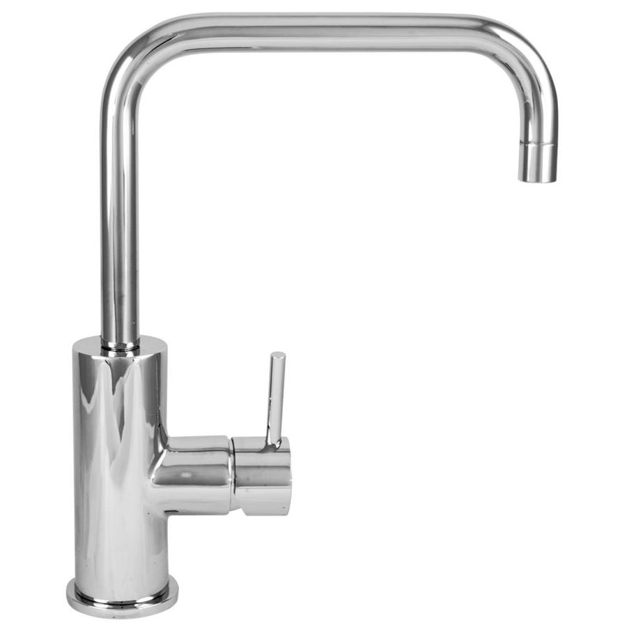 Shop Mico Designs Pro Chef Chrome Plated 1-Handle Deck Mount Pull ...