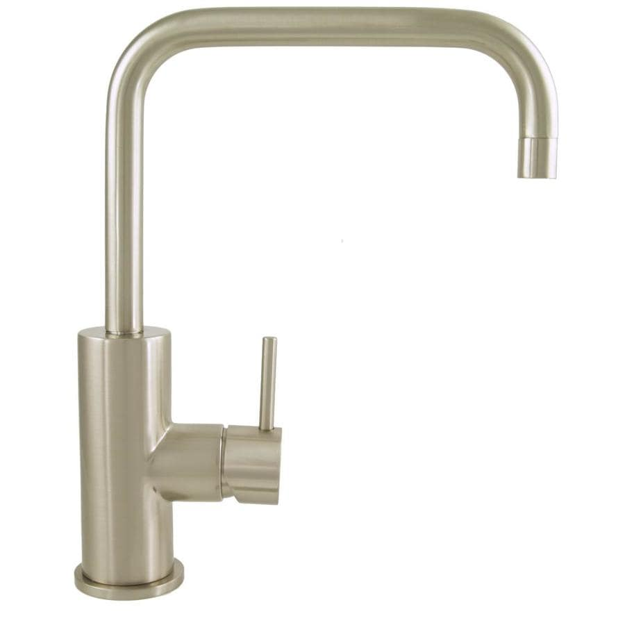 Mico Designs Pro Chef Satin Nickel 1-Handle Pull-Down Kitchen Faucet