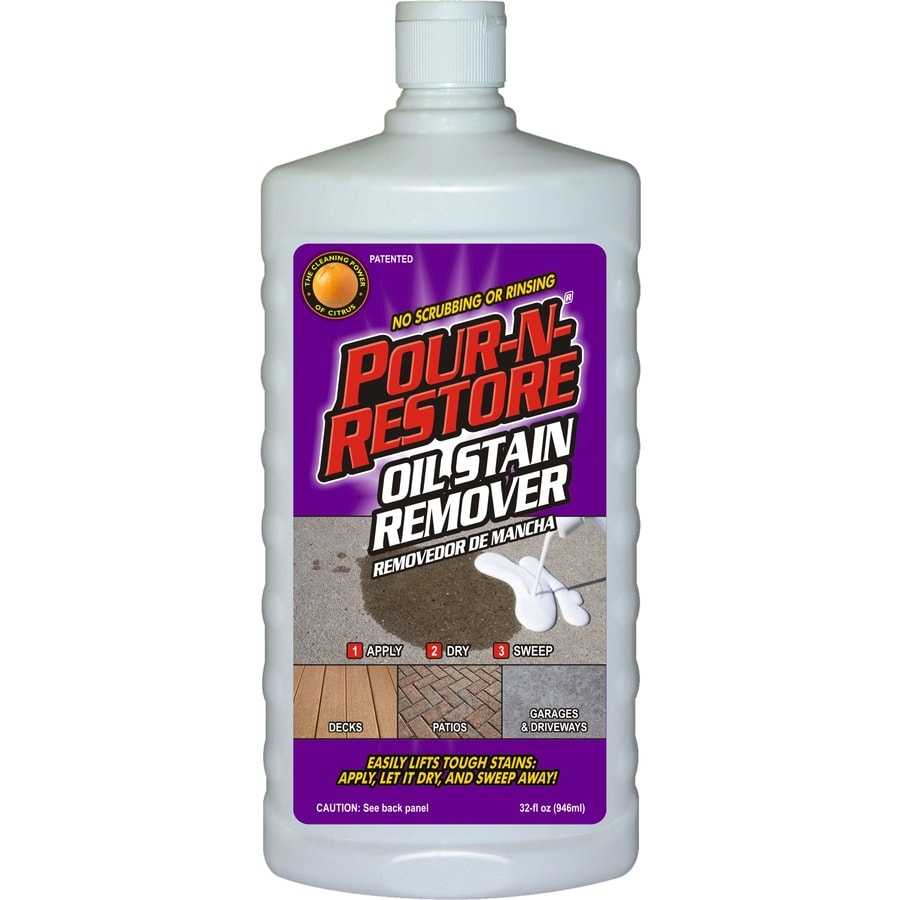 Shop pour n restore concrete preparation actual net for Concrete cleaner oil remover