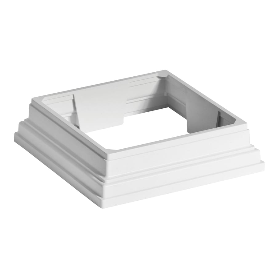 Trex 4-in x 4-in White Composite Post Collar