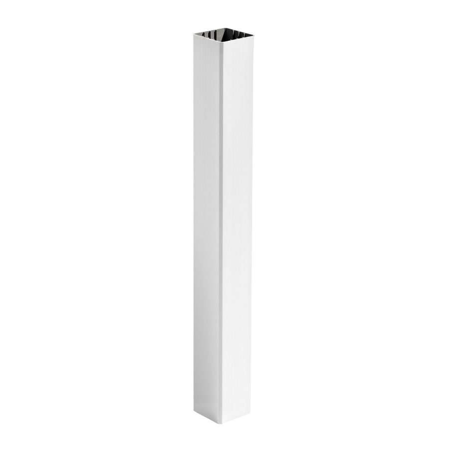 Trex (Fits Common Post Measurement: 4-in X 4-in; Actual: 4.45-in x 4.45-in x 40-in) Transcend Classic White Composite Deck Post Sleeve