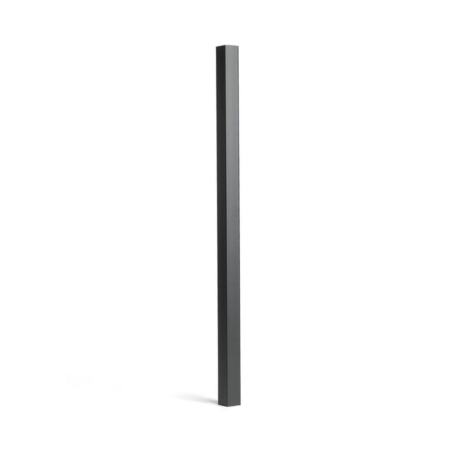 Trex (Common:; Actual: 1.4180-in x 1.4180-in x 30.3750-in) Transcend Charcoal Black Composite  Deck Baluster