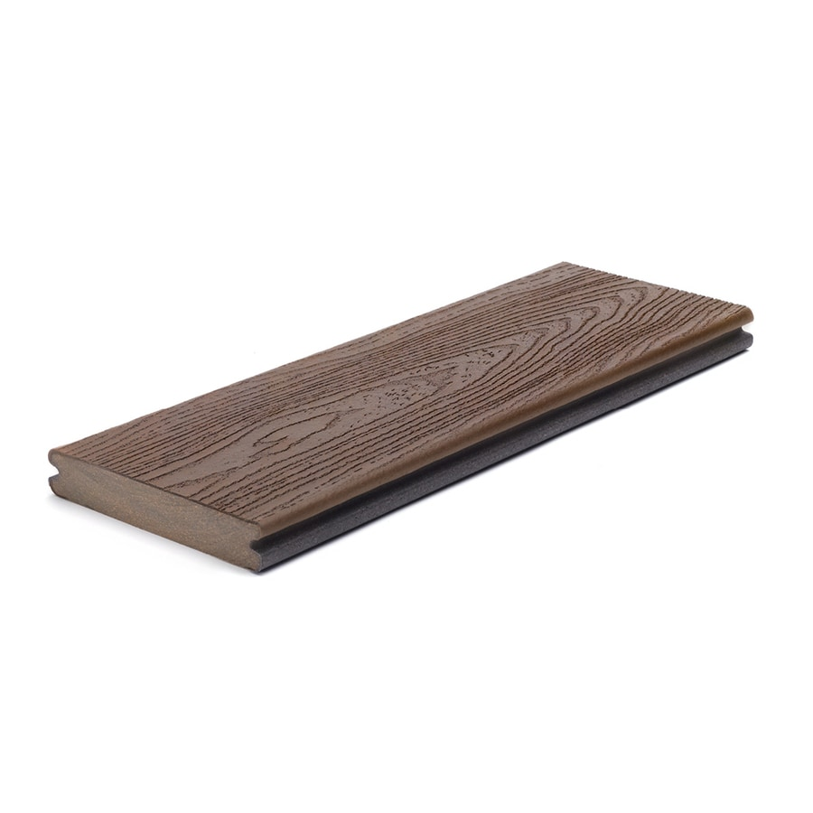 Trex Transcend Vintage Lantern Groove Composite Deck Board (Actual: 0.94-in x 5.5-in x 12-ft)