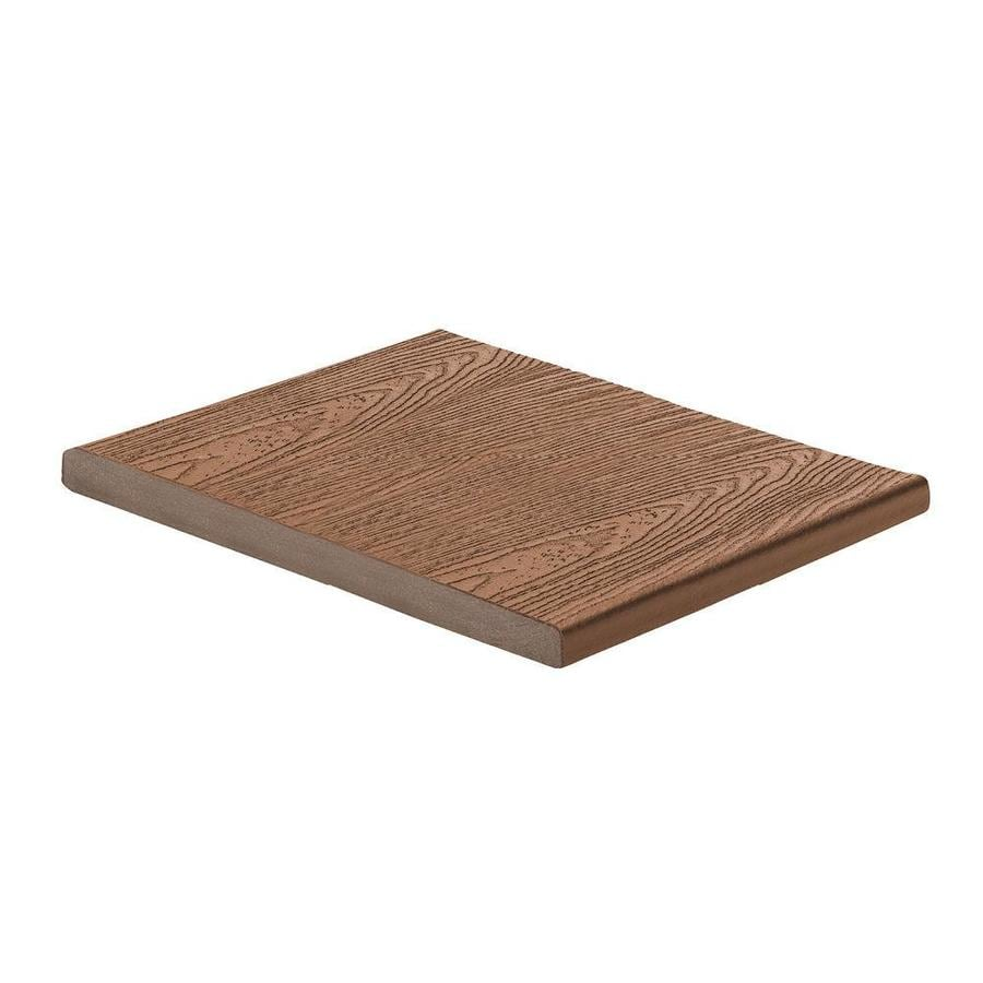 Trex (Actual: 0.56-in x 11.375-in x 12-ft) Transcend Tree House Square Composite Deck Board