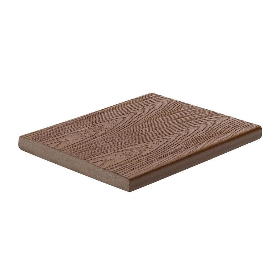 Trex (Actual: 0.56-in x 7.25-in x 12 Feet) Transcend Fire Pit Square Composite Deck Board
