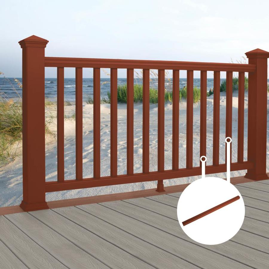 Trex Transcend Fire Pit Composite Deck Baluster (Common: 2-in x 2-in x 30-in; Actual: 1.418-in x 1.418-in x 31-in)