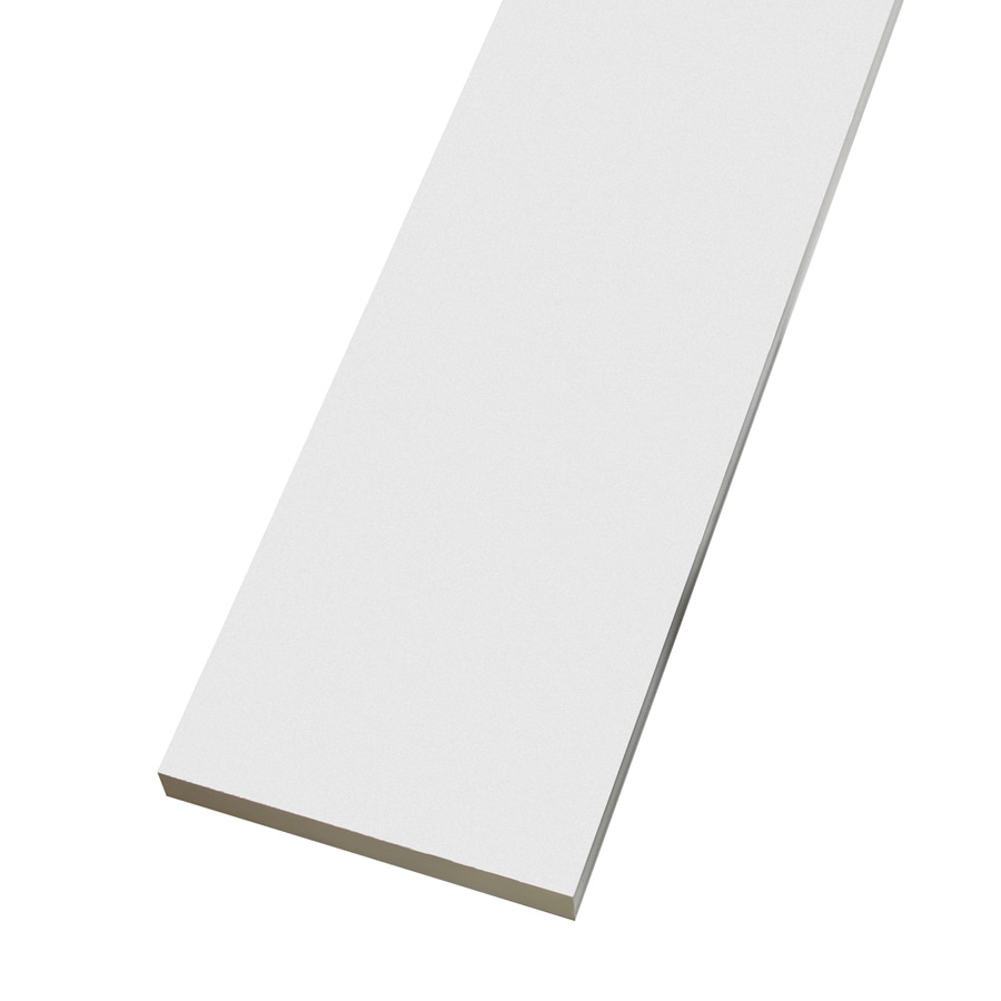 shop trex white composite deck trim board common 1 in x
