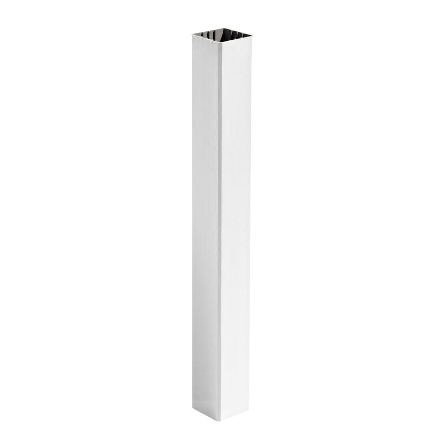 Trex Transcend Classic White Composite Deck Post Sleeve (Fits Common Post Measurement: 4-in x 4-in; Actual: 4.45-in x 4.45-in x 108-in)