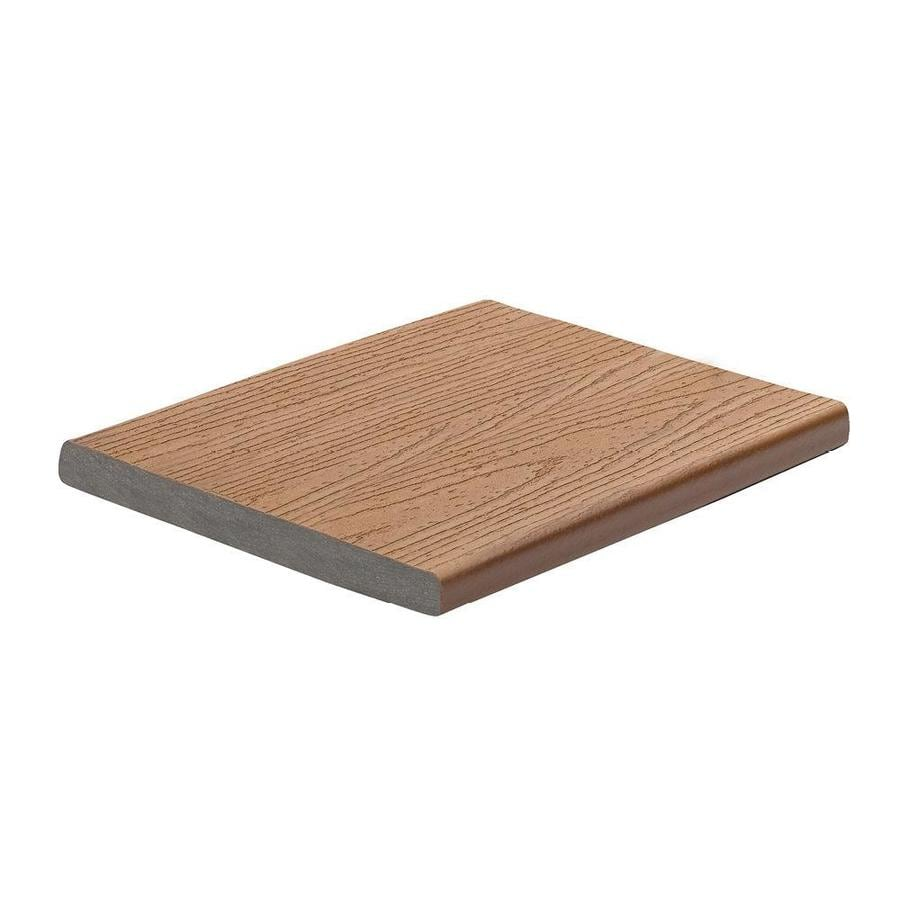 Trex (Actual: 0.56-in x 7.25-in x 12-ft) Enhance Beach Dune Square Composite Deck Board