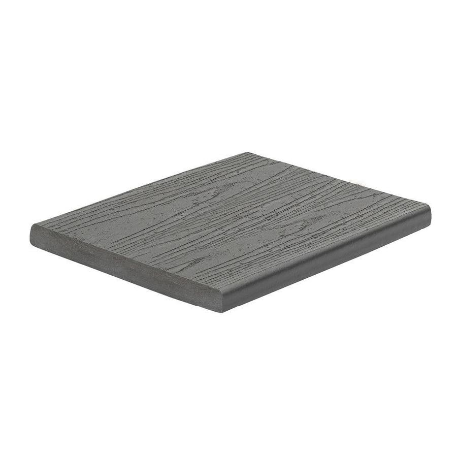 Trex (Actual: 0.56-in x 7.25-in x 12-ft) Enhance Clam Shell Square Composite Deck Board