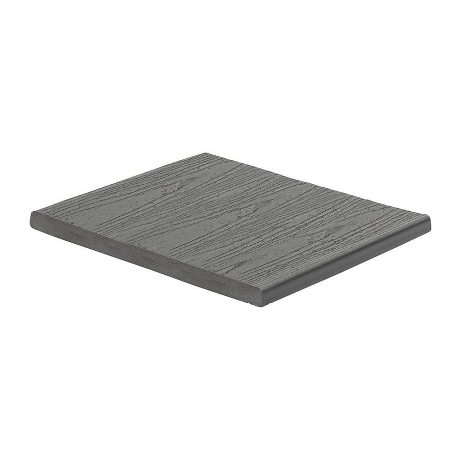 Trex (Actual: 0.56-in x 11.375-in x 12 Feet) Enhance Clam Shell Square Composite Deck Board