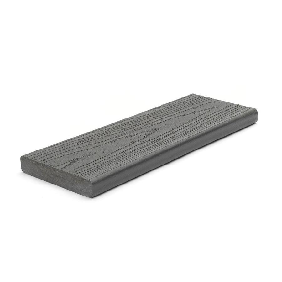 Trex (Actual: 0.94-in x 5.5-in x 12-ft) Enhance Clam Shell Square Composite Deck Board