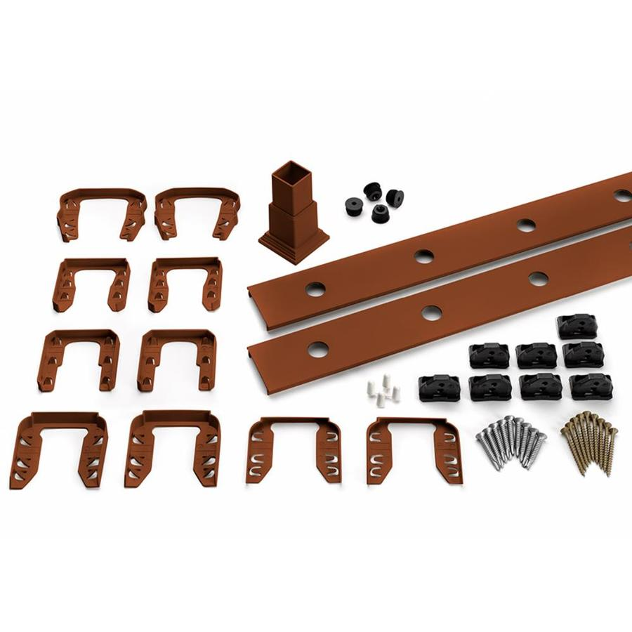 Trex Transcend Fire Pit Composite Deck Railing Completer Kit