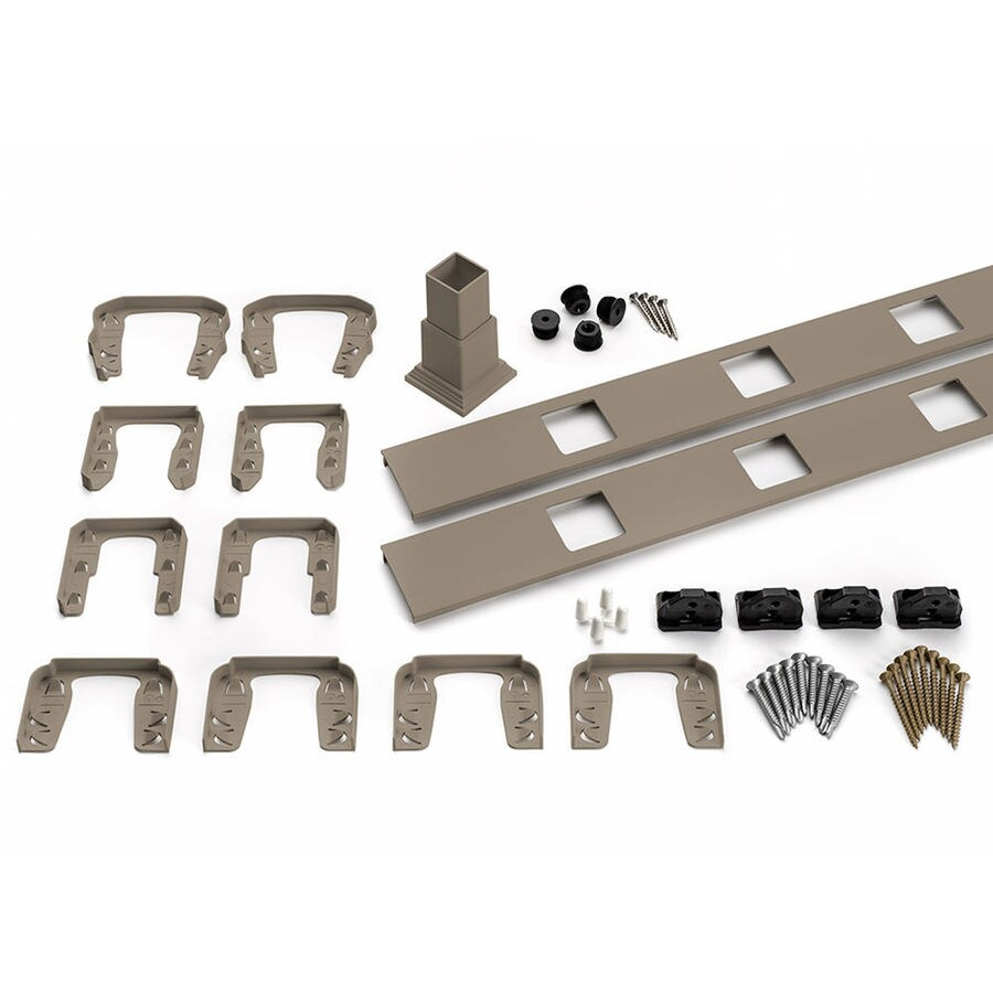 Trex Transcend Gravel Path Deck Railing Completer Kit