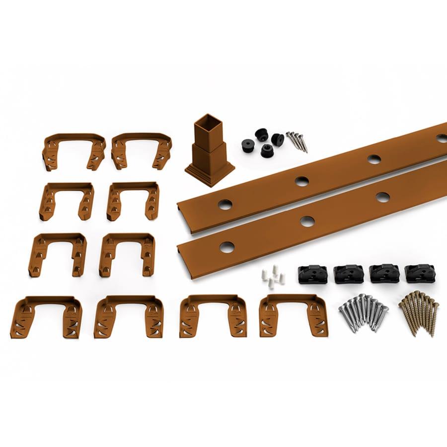 Trex Transcend 4-Pack Tree House Composite Deck Railing Kit (Assembled: 7.625-ft x 3-ft)