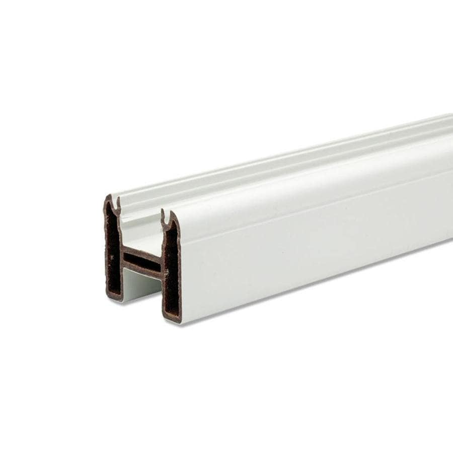 Trex (Common: x 8.0; Actual: 2.38 x 3.25 x 7.625) Transcend Classic White Deck Universal rail