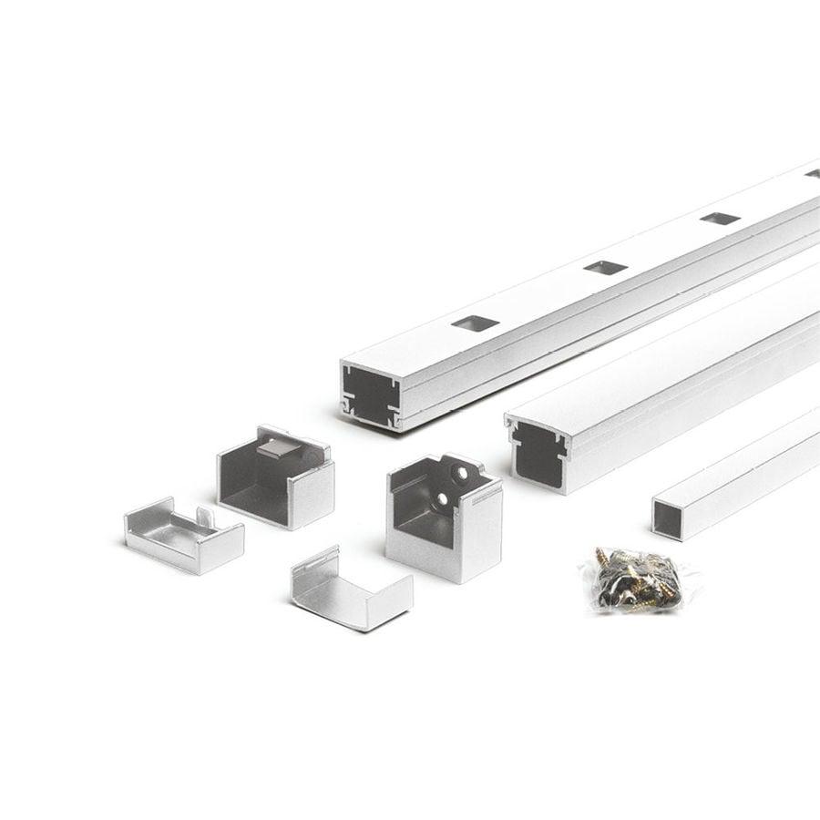 Trex Reveal Railing Classic White Aluminum Deck