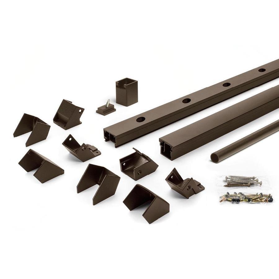 Trex (Assembled: 8-ft x 3-ft) Signature Railing 24-Pack Bronze Aluminum Deck Railing Kit