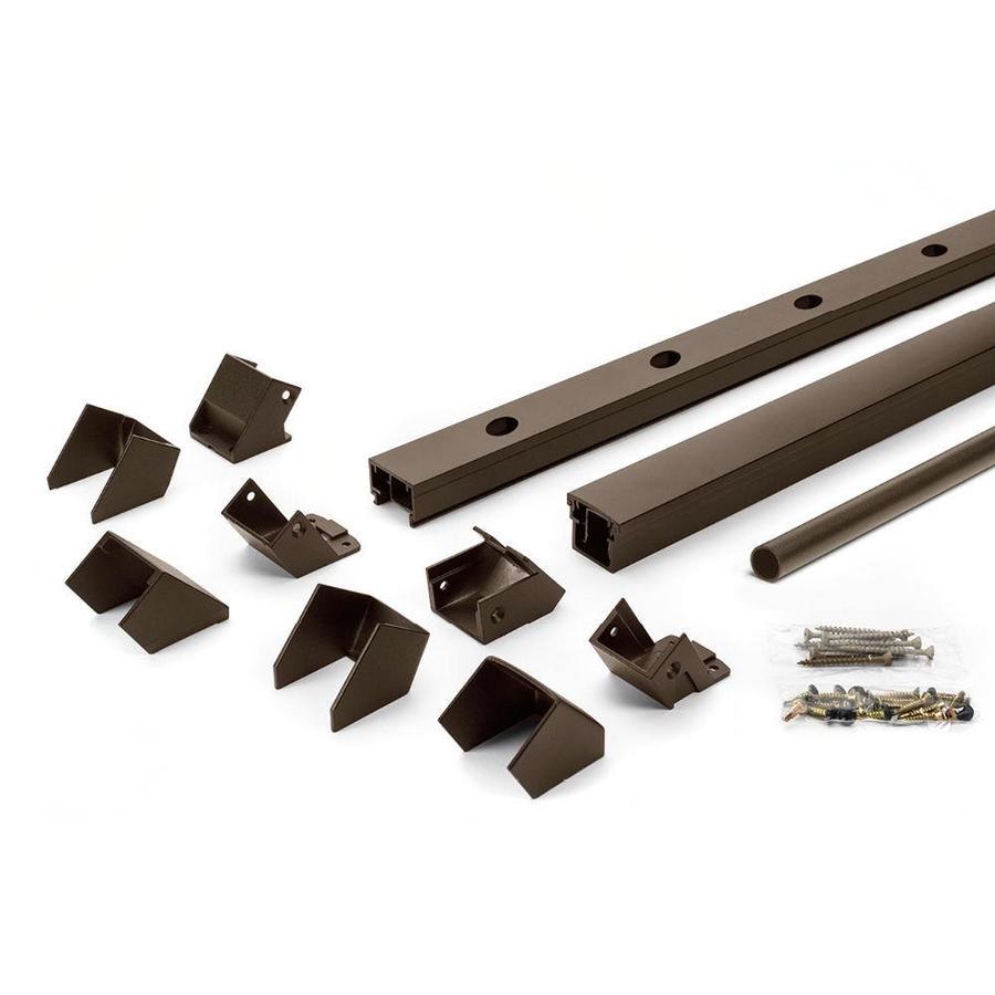 Trex (Assembled: 6-ft x 3.5-ft) Signature Railing 20-Pack Bronze Aluminum Deck Railing Kit