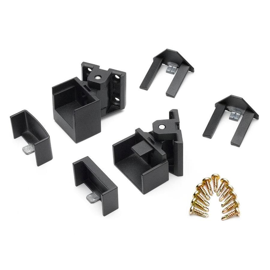 Trex 15-Pack Charcoal Black Zinc Line Bracket Handrail Brackets