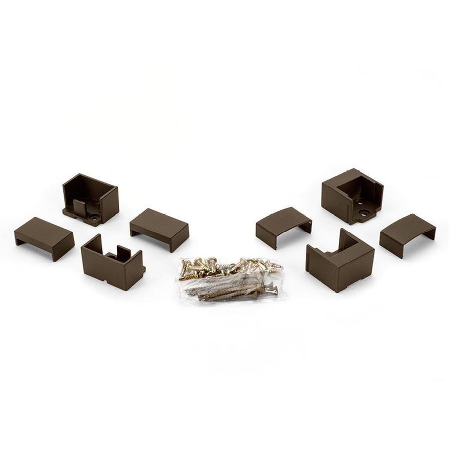 Trex 24-Pack Bronze Zinc Line Bracket Handrail Brackets