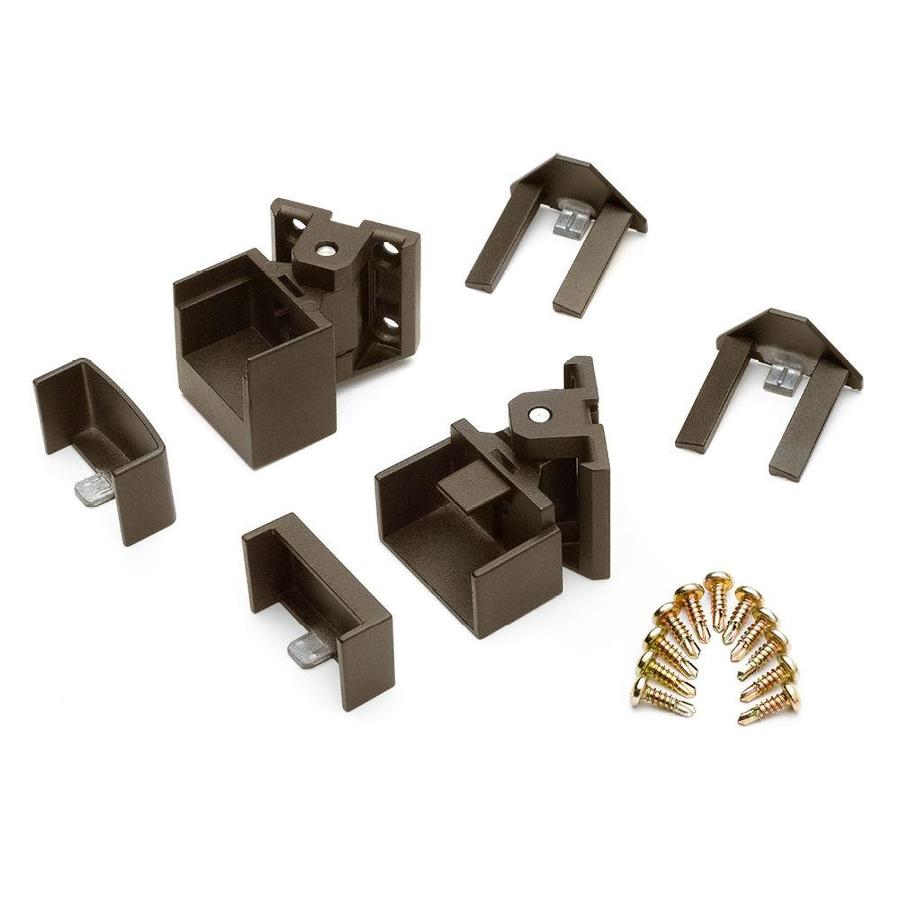 Trex 15-Pack Bronze Zinc Swivel Handrail Brackets