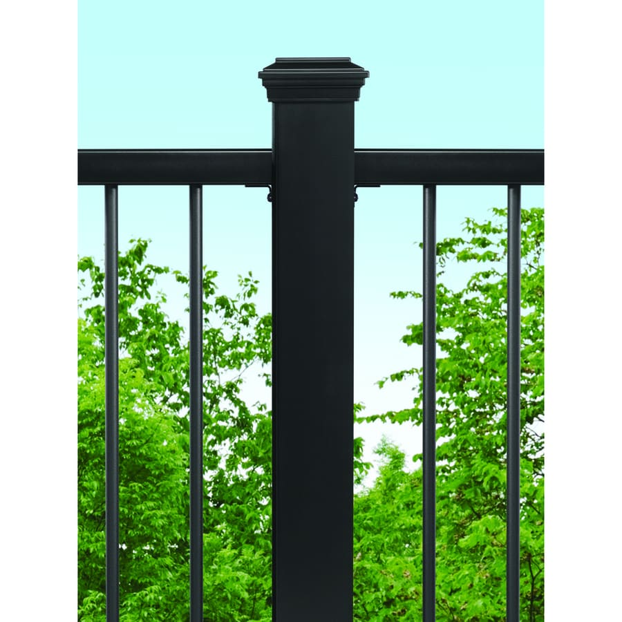 Trex Charcoal Black Composite Deck Post Sleeve (Fits Common Post Measurement: 4-in x 4-in; Actual: 4.45-in x 4.45-in x 48-in)
