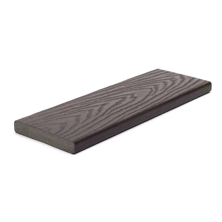 Trex (Actual: 0.82-in x 5.5-in x 20-ft) Select Woodland Brown Composite Deck Board