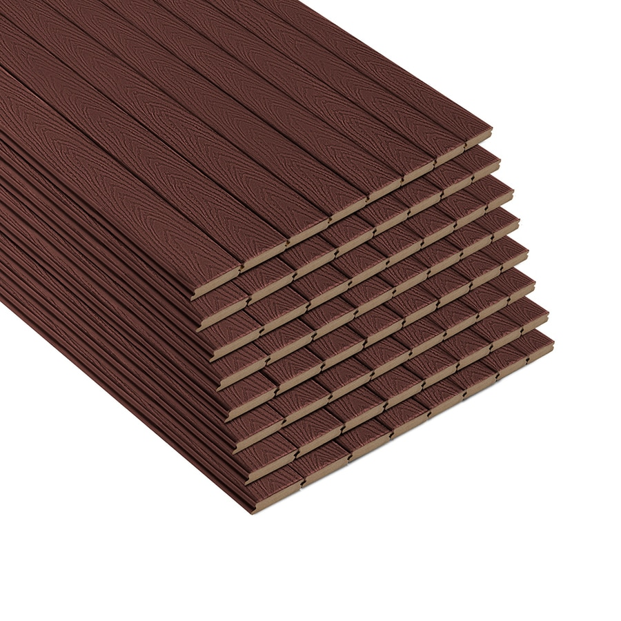 Trex (Actual: 0.82-in x 5.5-in x 12-ft) Select Madeira Grooved Composite Deck Board