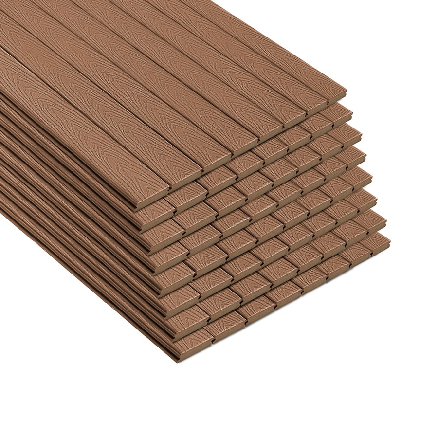 Trex Select 20-ft Saddle Grooved Composite Deck Board
