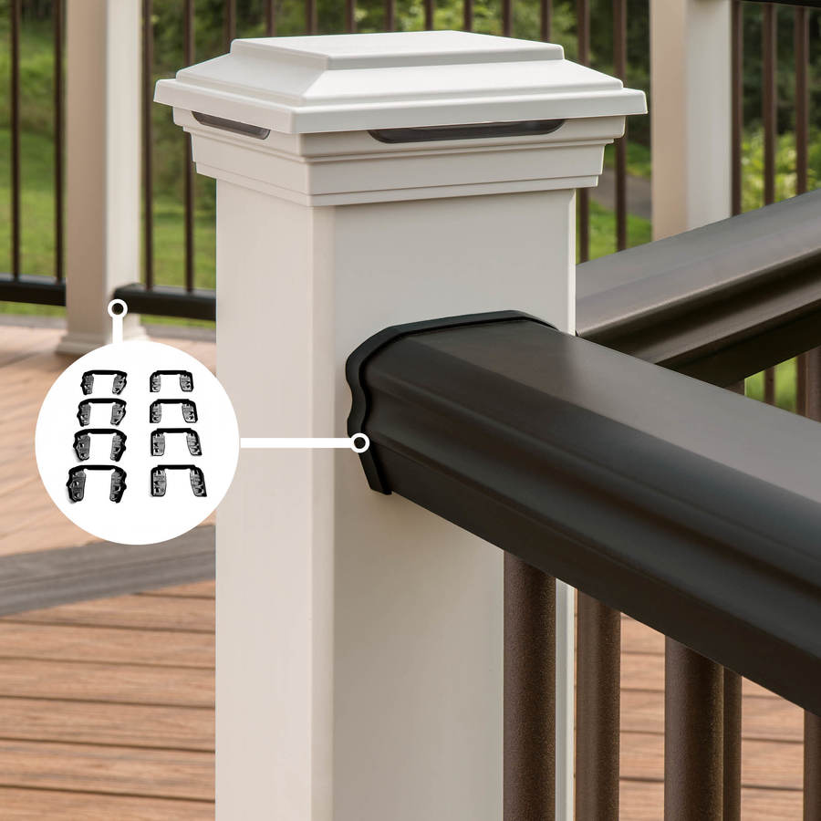 Trex Transcend Charcoal Black PVC Line Connector