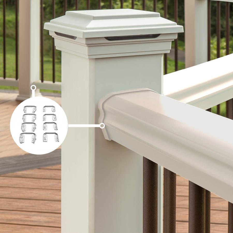 Trex Transcend Classic White PVC Line Connector