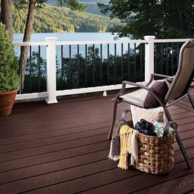 Trex Select 20 Ft Land Brown Composite Deck Board